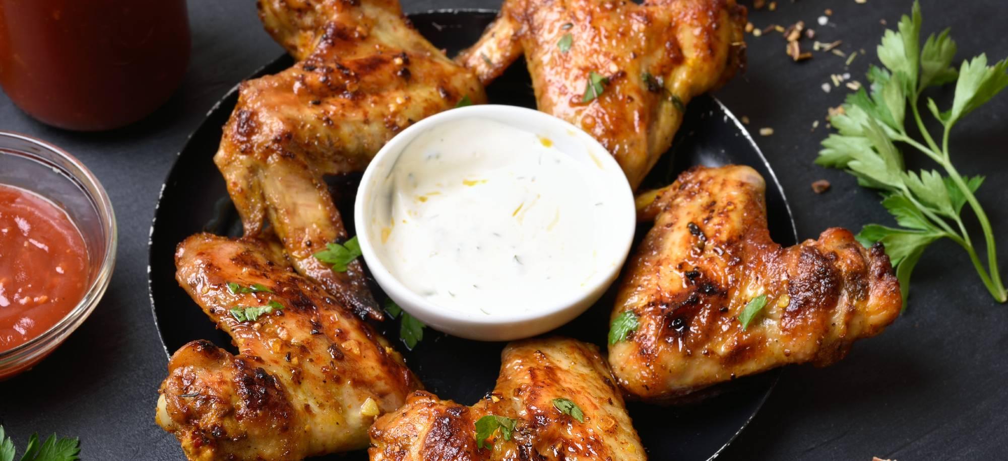 Ailes de poulet au barbecue