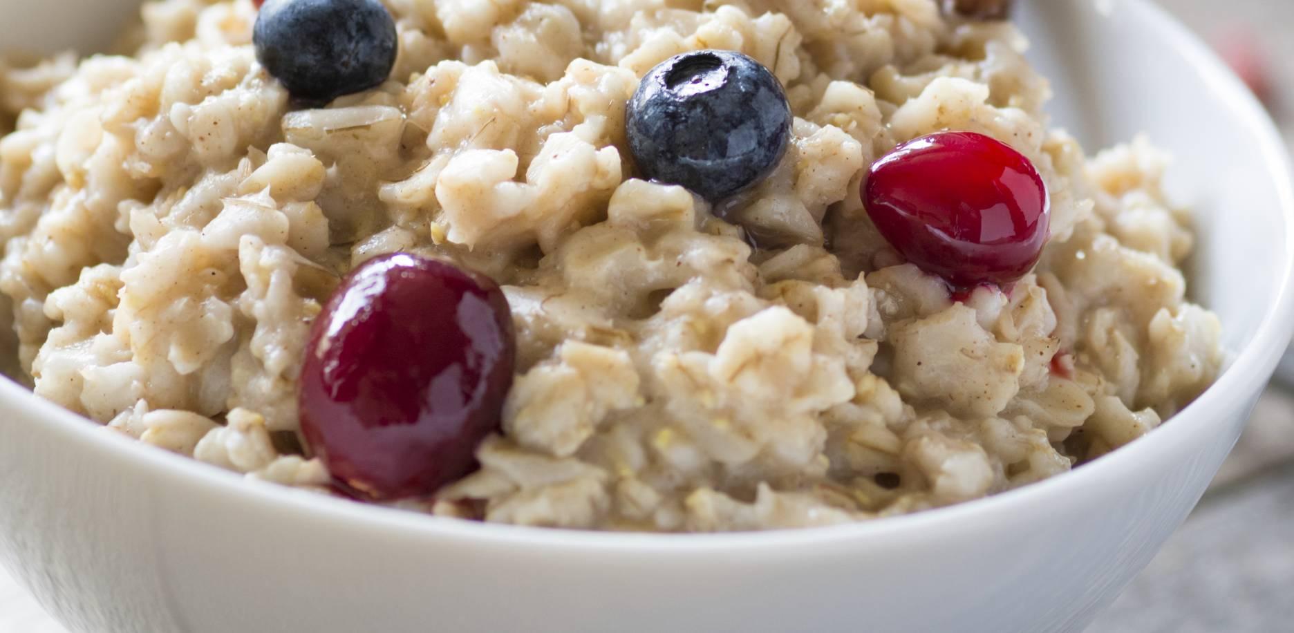 Recette de porridge aux flocons d'avoine
