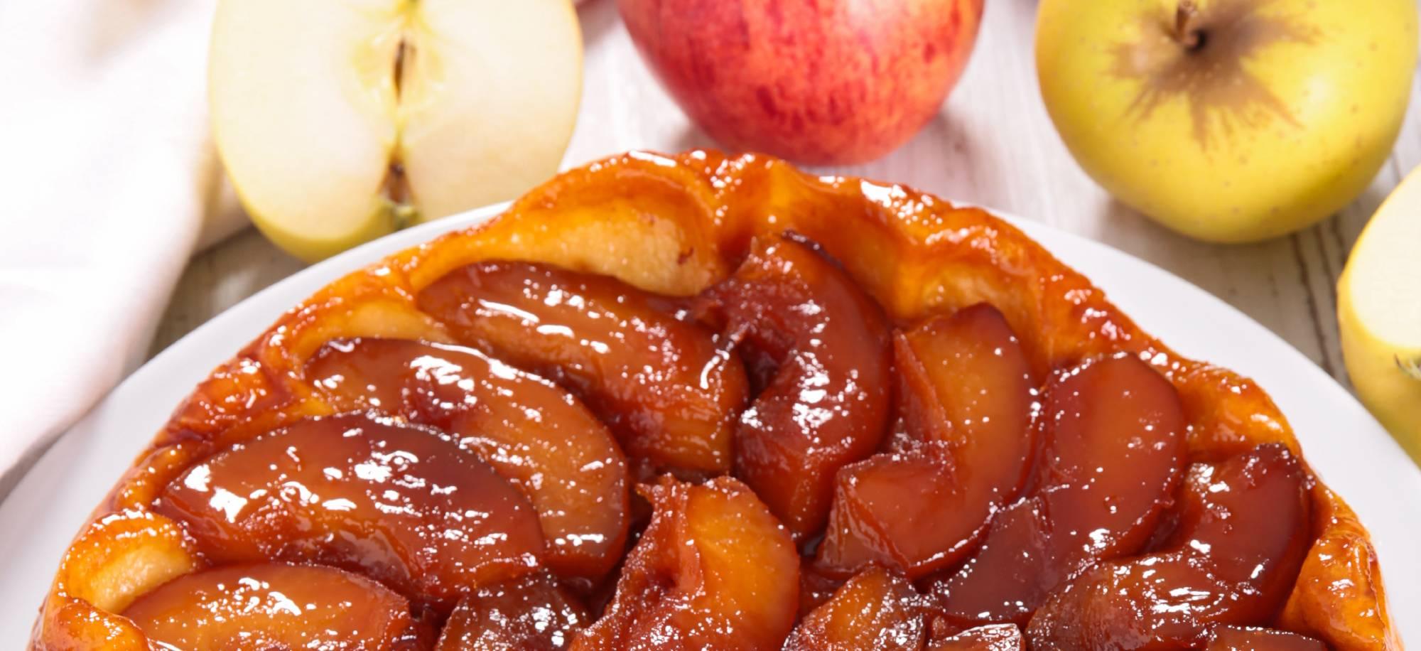Mes Recettes Tarte tatin gâteau pommes