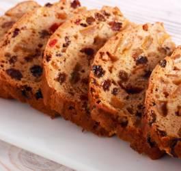 Barm brack, cake Irlandais recette facile gourmande aux fruits confits