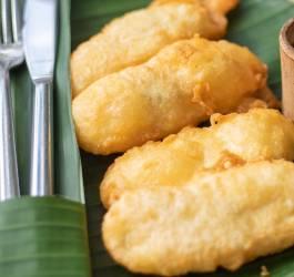 Beignets de banane façon asiatique