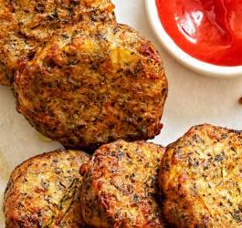 Beignets végétariens à la tomate