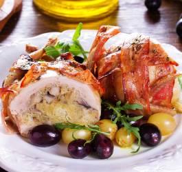 recette, noel, nouvel an, fetes, cailles au foie gras