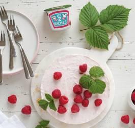 Mes Recettes cheesecake framboise fraise fruits frais gâteau yaourt gourmand recette bio
