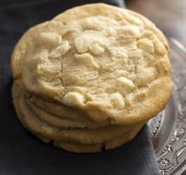 Recette de cookies au chocolat blanc