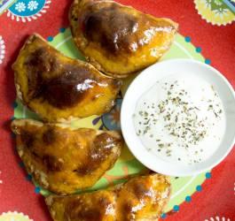 Empadenas chorizo poivrons mozzarella