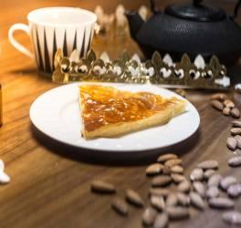 Recette de galette des rois au caramel