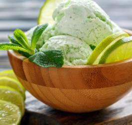 glace, recettes glaces, glaces originales, mojito, menthe, alcool, glace,