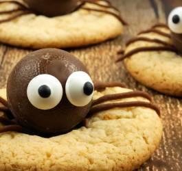 recette, cookies, halloween,