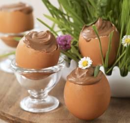 Recette de mousse au chocolat spécial Pâques