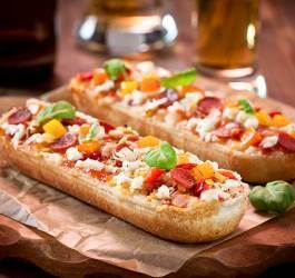 Recette de pizza baguette revisitée