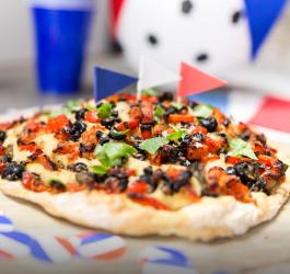 pizza appéritifs pizza plat