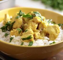 Riz et poulet au curry
