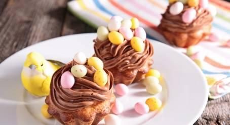 muffins de pâques chocolat recette dessert rapide